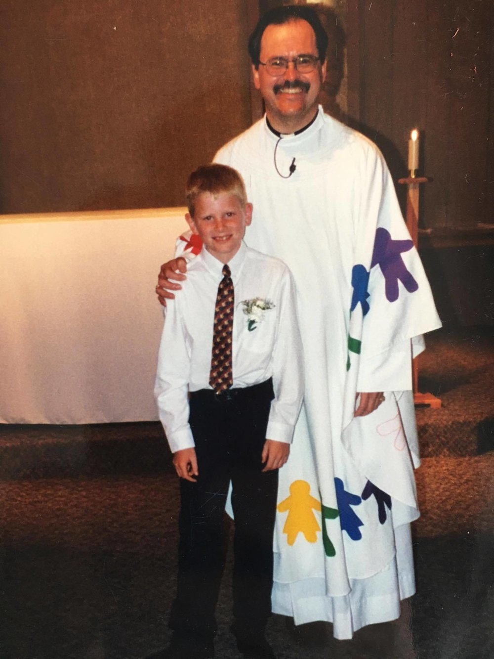 My First Communion, April 2001