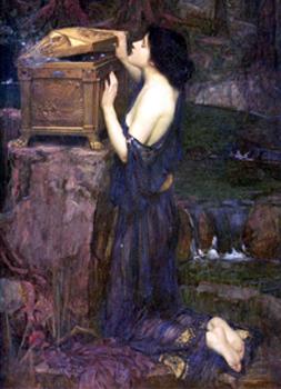 Pandora and her stupid box.