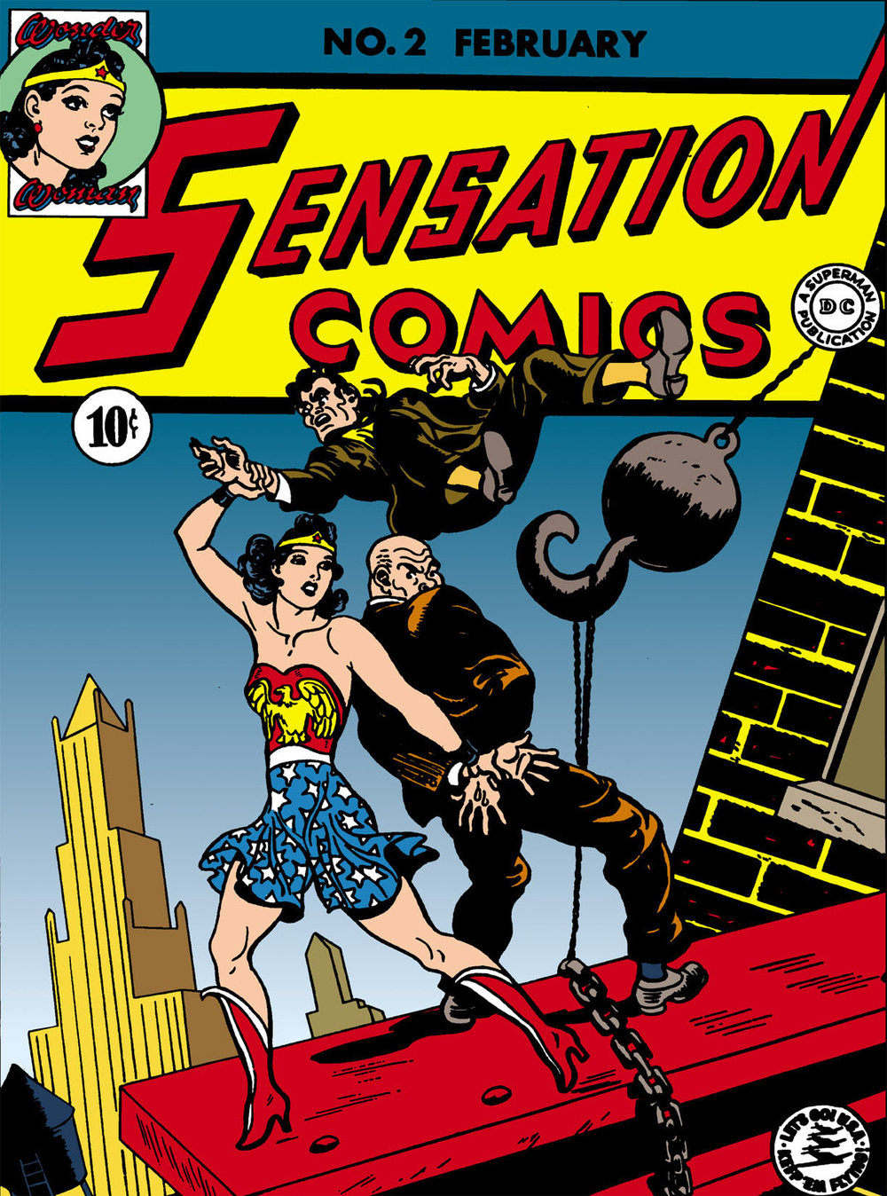 Digital edition of  Sensation Comics #2