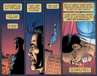 You know your comic book is in trouble when you hire Garth Ennis to clean things up.