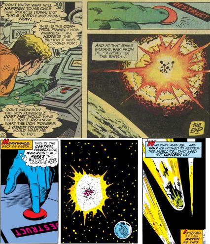 Above: Aquaman #56 (1971), Below: Sub-Mariner #72 (1974)