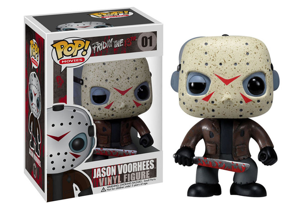 You know your franchise is worth some coin when Funko makes a lazy vinyl figure based on your character.