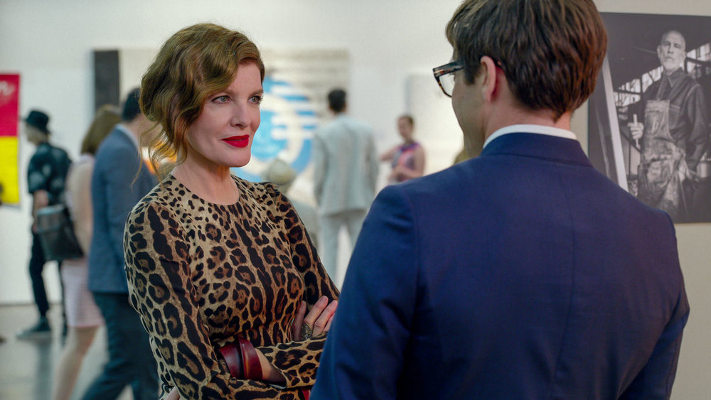 Rene Russo makes up 1/3 of the best  Velvet Buzzsaw  has to offer.