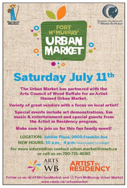 Urban Market 11 July