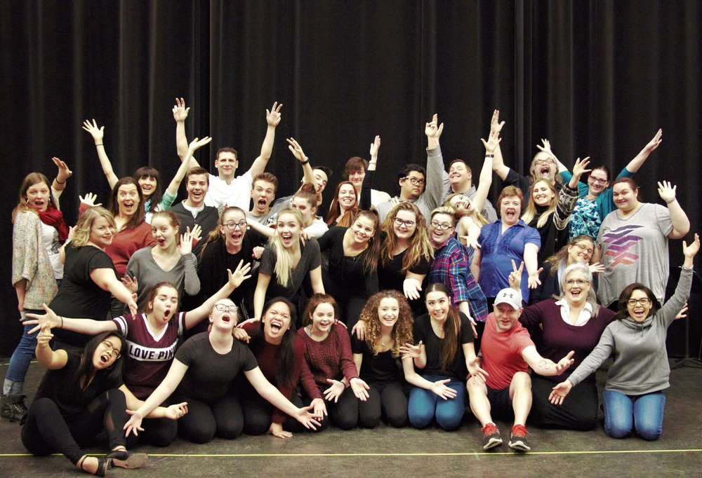 The energized cast of Footloose The Musical. Photo Hanna Fridhed.jpg