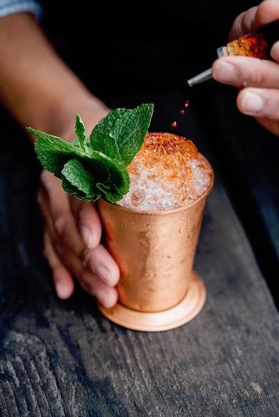 Candela mamajuana dominican mule cocktail.JPG