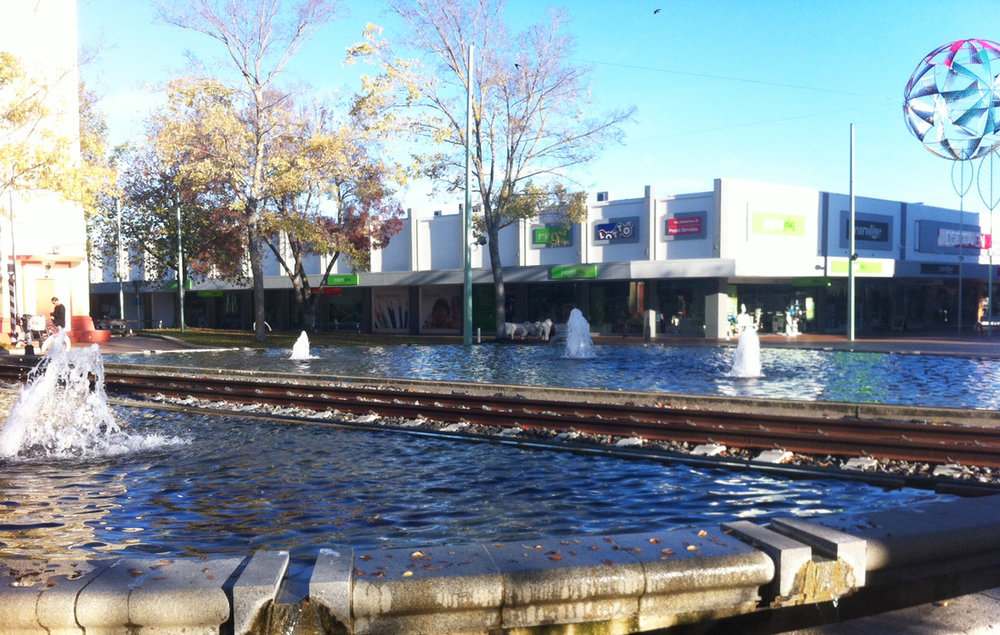 The Haukanui Water feature