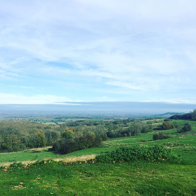 Made it to the top! 🙌🏻🍂🍁#cotswolds #gloustershire
