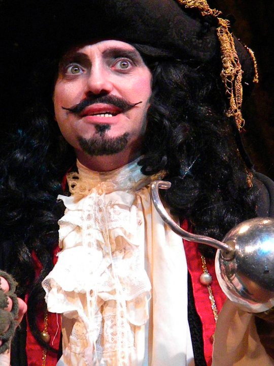 Captain Hook,  Peter Pan the Musical , Theatre Institute at Sage (Photo Credit: Tamara Hansen)