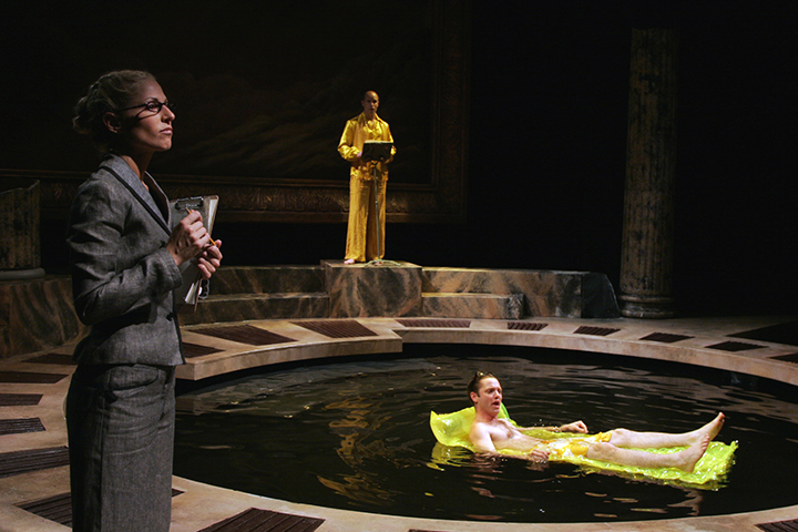 Phaeton,  Metamorphoses , Capital Repetory Theatre (Pictured: Tiffany Albert, Craig Wroe. Photo Credit: Joe Schuyler)