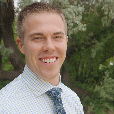 Dr.Colin Windom - Dr. Colin Windom graduated from Regis University Magna Cum laude in Chemistry and went on to graduate from University of Colorado School of Dental Medicine. Colin and his wife Chelsee are both Sterling natives and are so excited to be back! Sterling has been and always will be their home. They have a beautiful two-year-old daughter, named Albey, and another daughter, Evelyn, which will be arriving in June. They also have two loving dogs, a boxer named Bebop and a long-haired Chihuahua named Kieta. Colin loves snowboarding and anything outdoors. He also enjoys bowling and weight lifting. Most of all Colin loves spending time with his family.
