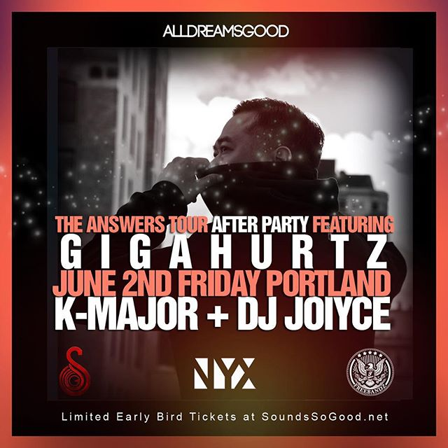 My debut at the new NYX in Portland couldn't get much better as I have the fam DJ JOIYCE  K-MAJOR rocking with me.  Ticket info in bio!  #FreeBandz #AllDreamsGood #hiphop #portland