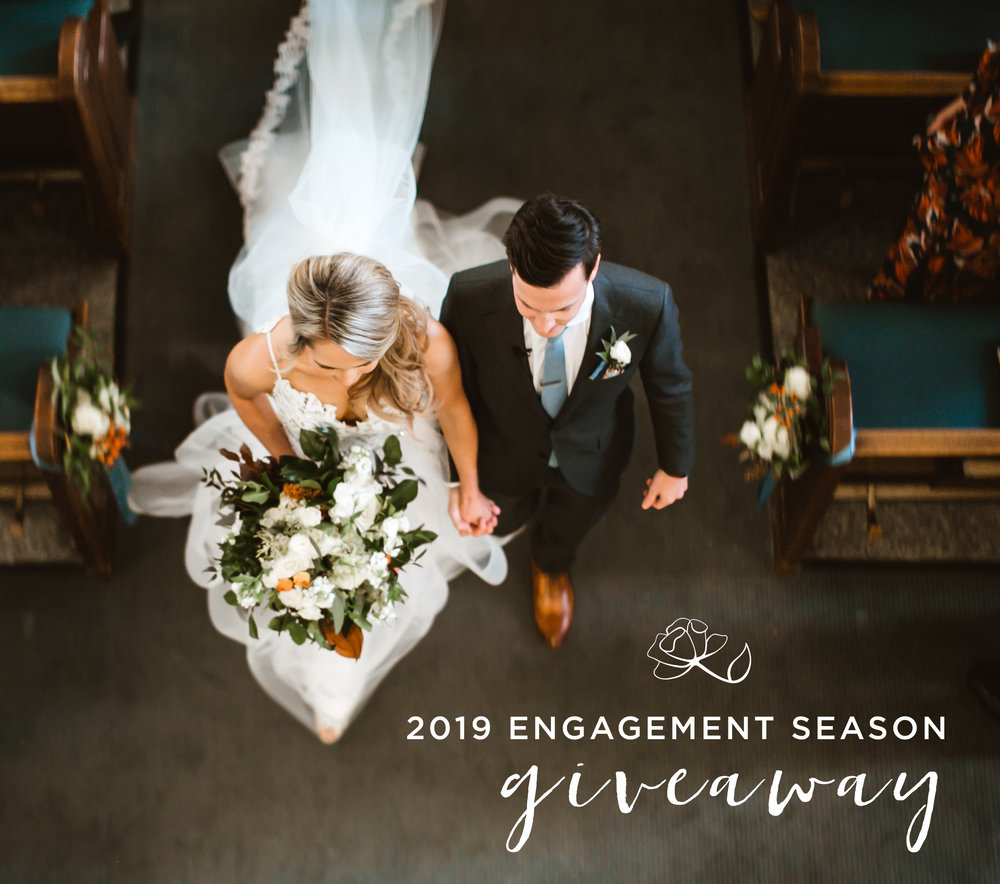 Introducing… Our 2019 Engagement Season Giveaway! -