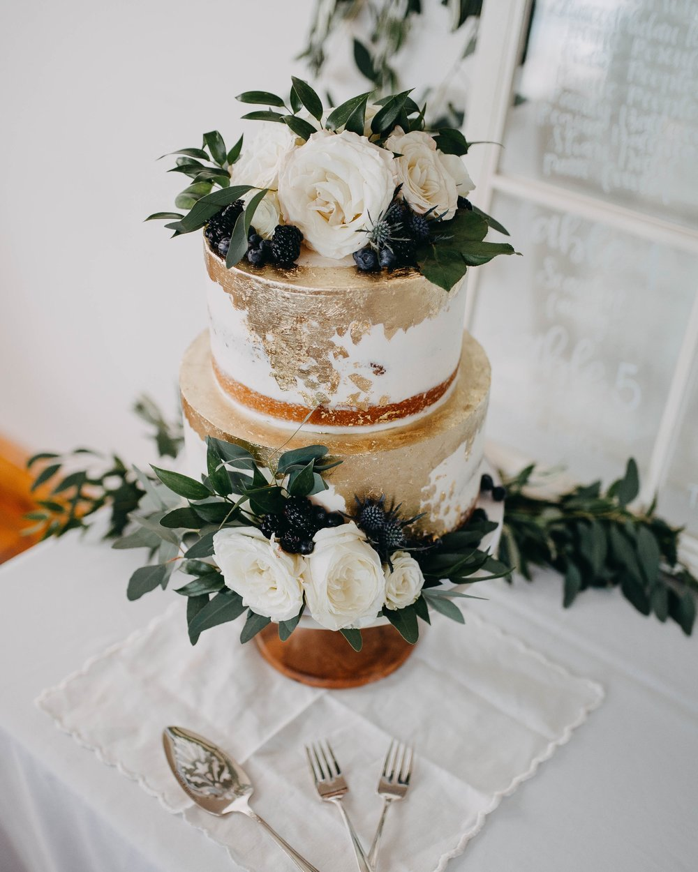 Blue thistle Cakes -