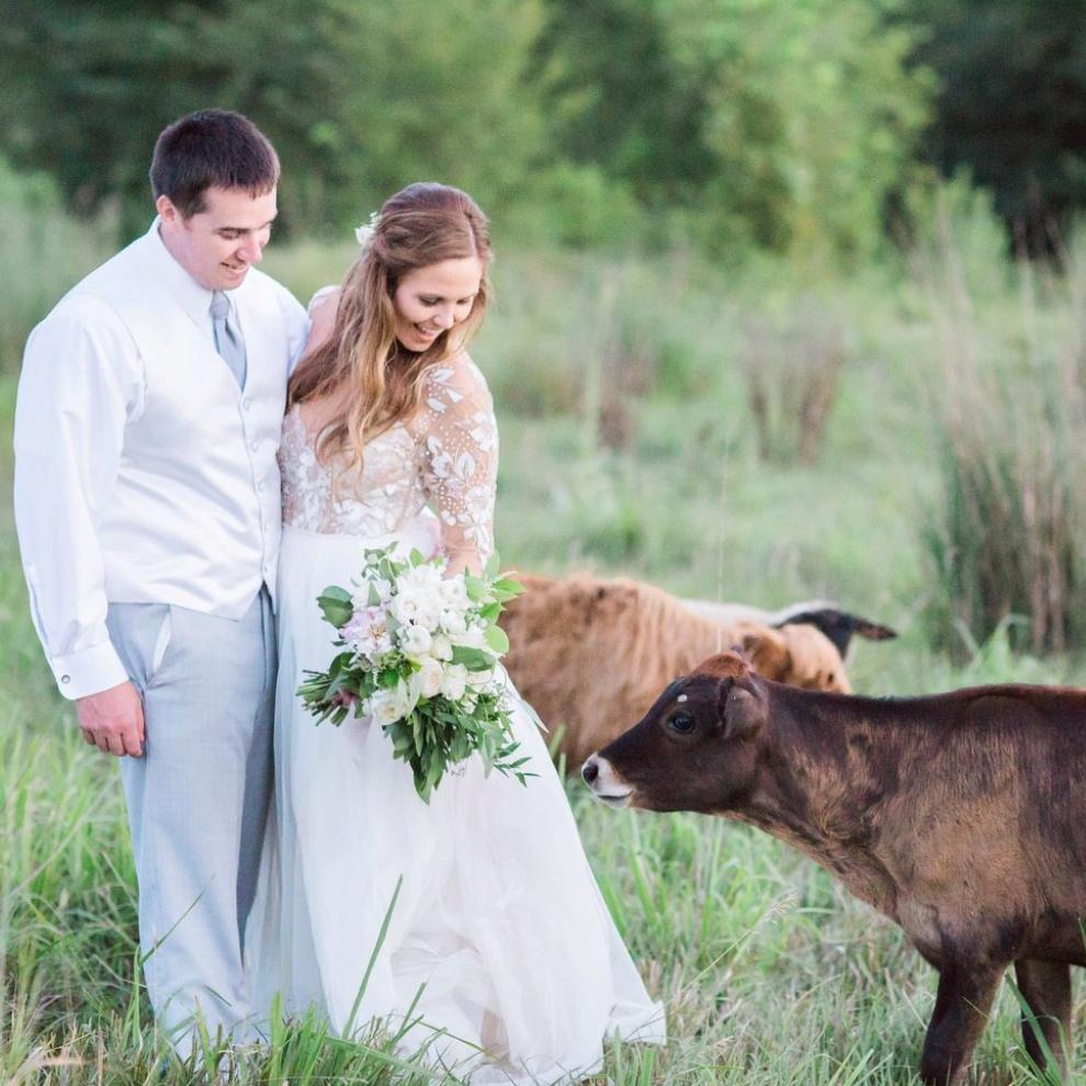 The Knot   A Bohemian Barn Wedding at Weston Red Barn Farm in Missouri