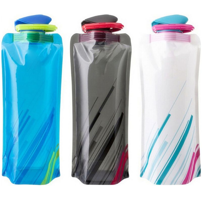 BPA-Free Water bags weigh just 1 oz!