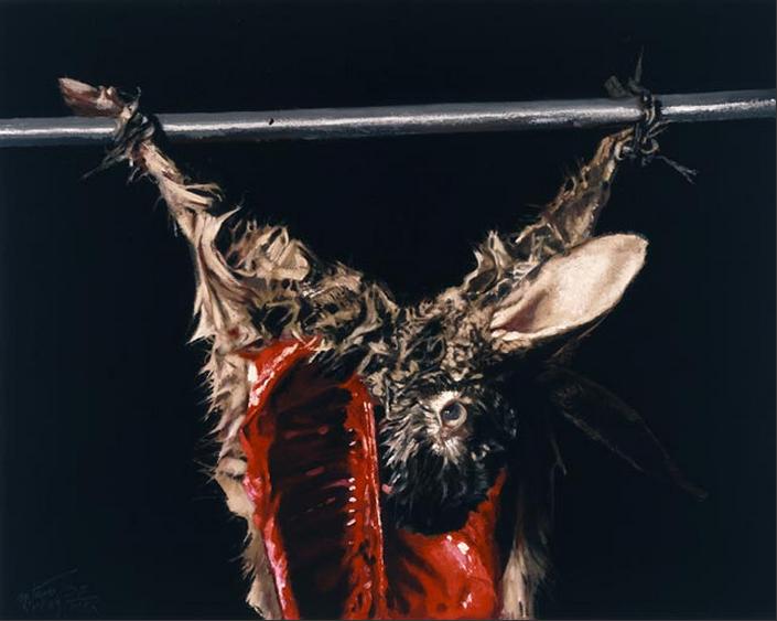 arturo-rivera-el-asesinato-del-conejo-de-durero-rembrandt-zurbarán