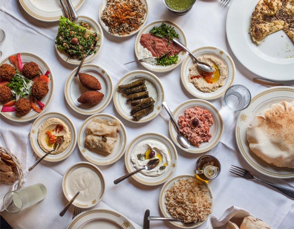 comida-libanesa-gastronomía-libano-cdmx