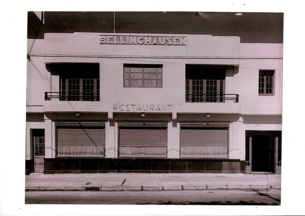 Así se veía el original Bellinghausen