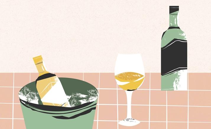 vinos-ilustración-blanco-rojo