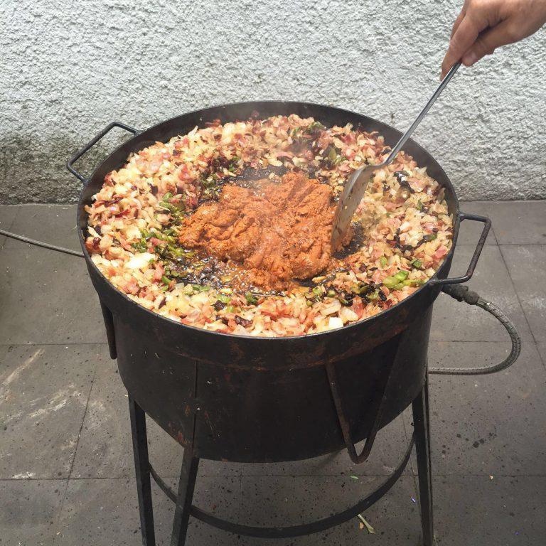 discada-carne-norteño-receta-facil