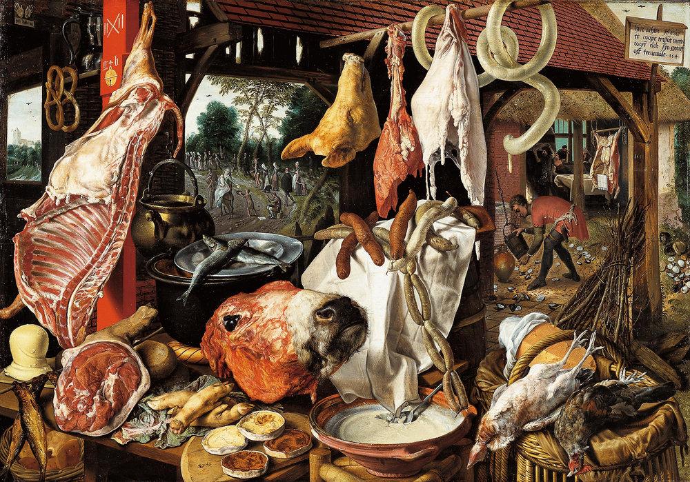 carne-pintura-pieter-aertsen-arte-naturaleza-muerta