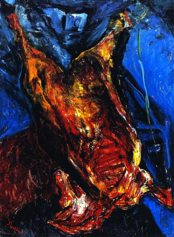 carne-arte-pintura-chaim-soutine-naturaleza-muerta