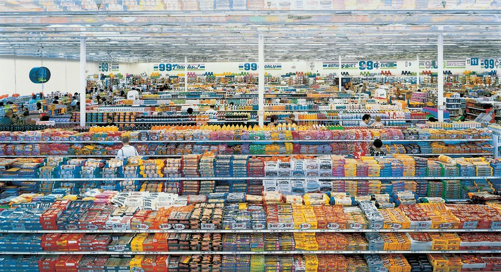 99 Cent, Andreas Gursky (2001)