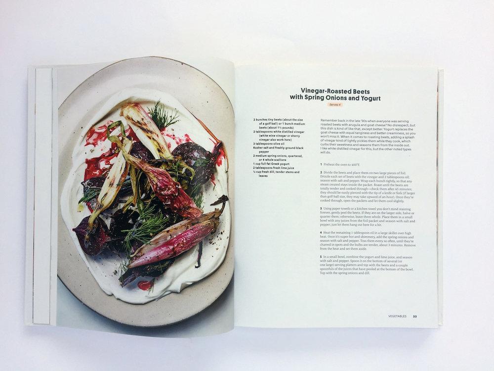Dining in de Alison Roman