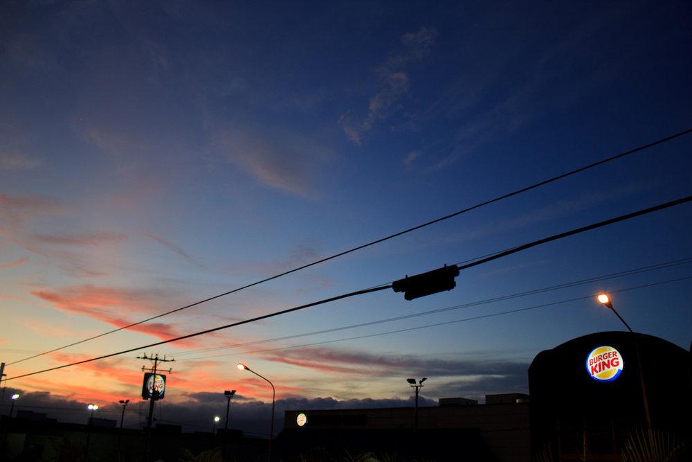 Walter Vargas: Burger King Sunset, 2011, flickr