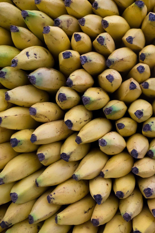Mercado de Xochimilco: plátanos