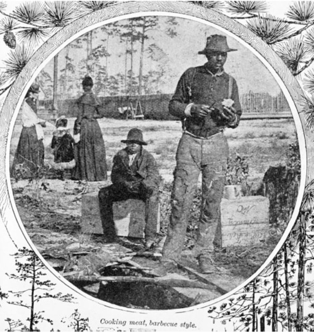 Barbecue in Southern Pines, 1891