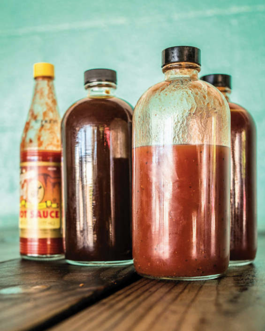 Barbecue sauce, Franklin's Barbecue. © Wyatt McSpadden
