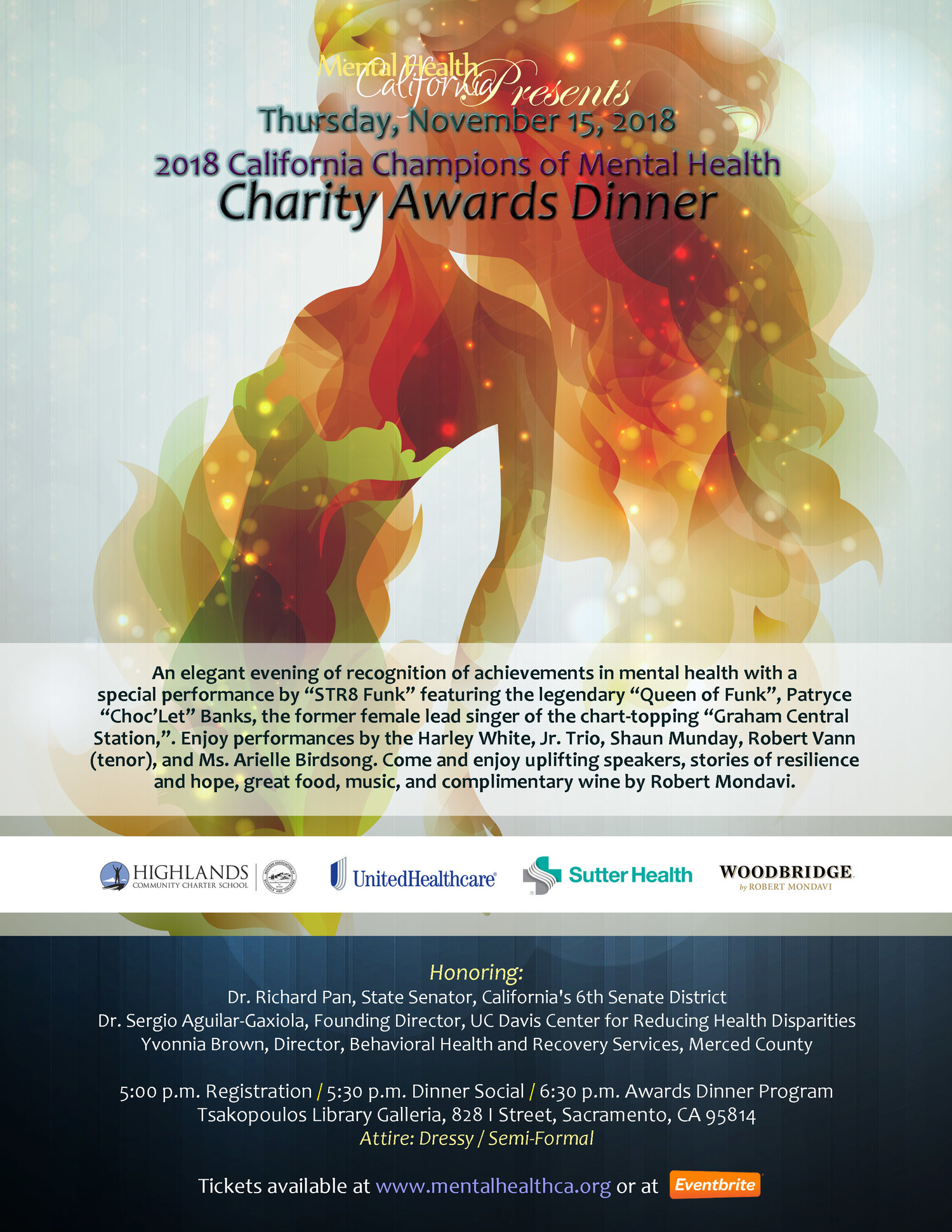 2018 Awards Dinner Mental Health California