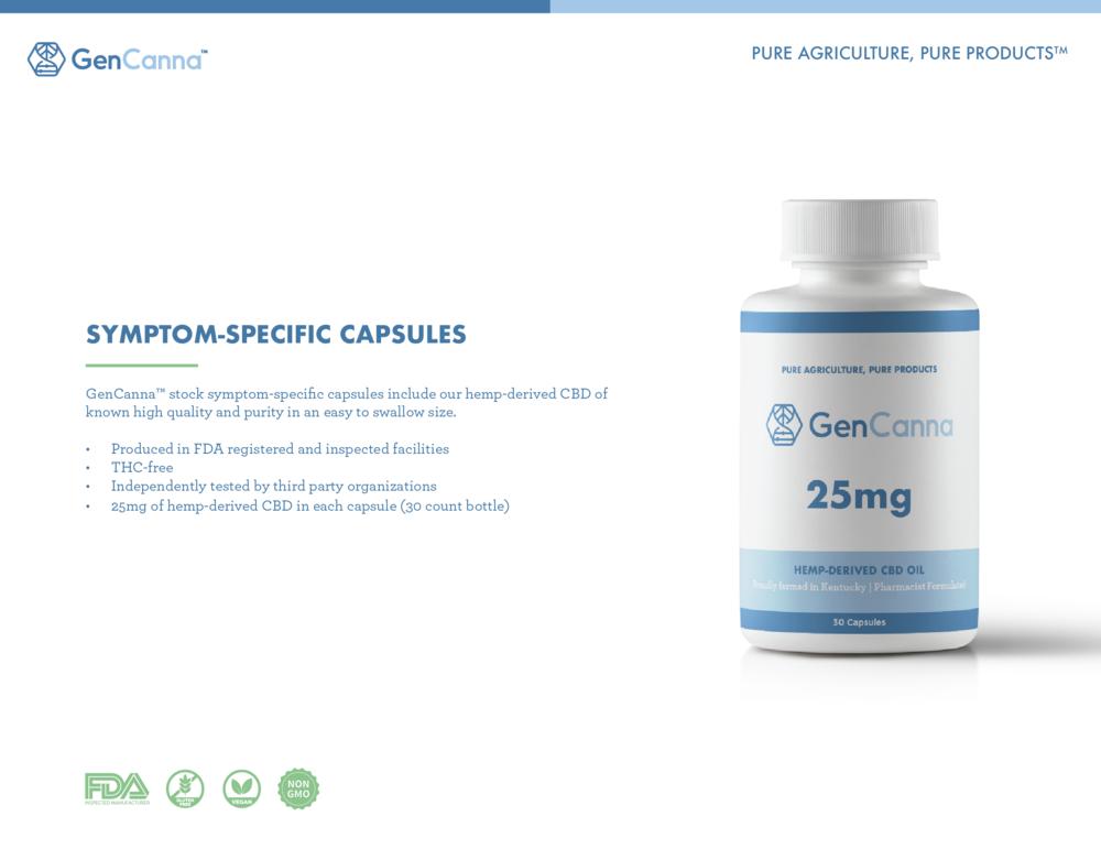 SYMPTOM-SPECIFIC CAPSULES