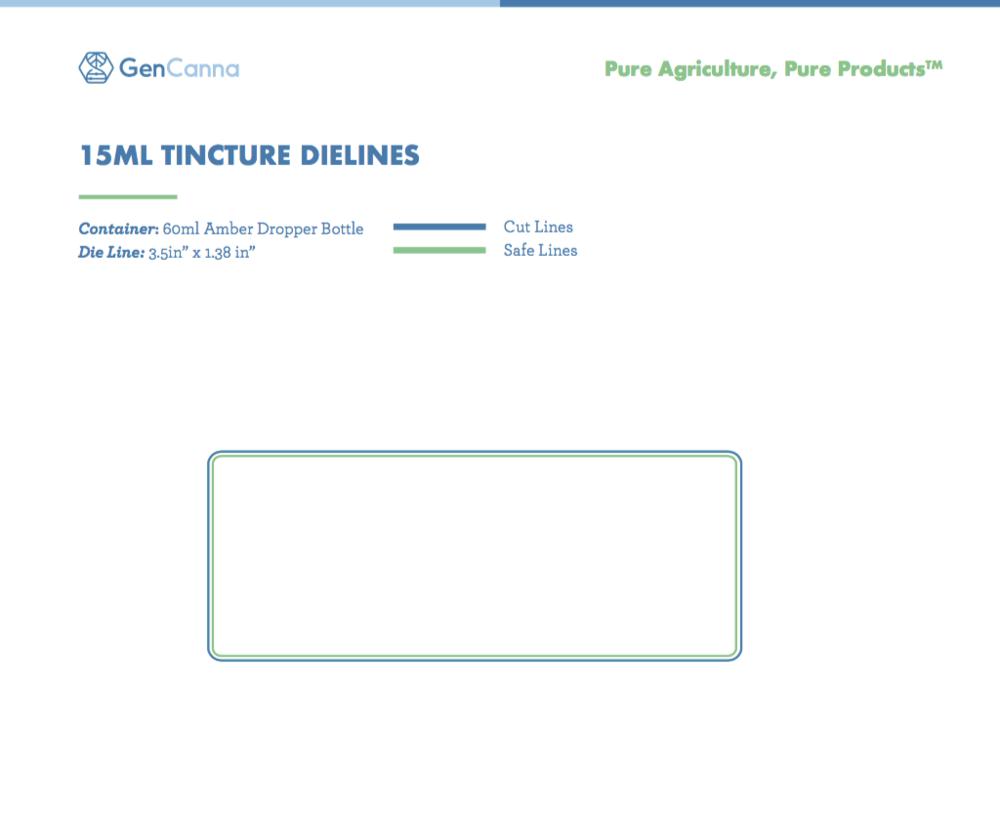 15ml Dropper DieLInes -