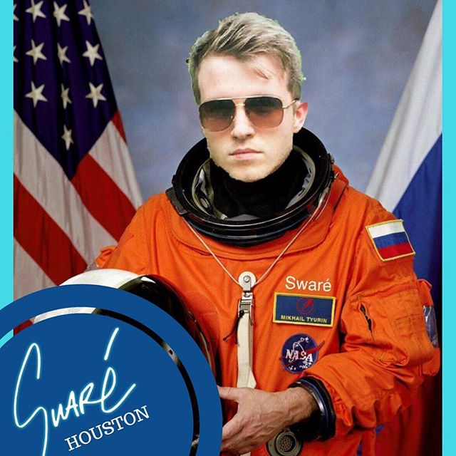 Just wanted to say a big thank you to everyone for all the lovely messages about the most recent release, you guys are awesome! . If you haven't heard it already check out the link in the bio to watch the video or stream it. . In the meantime here's an actual photo of me just before I launched with the Russian space program. . Happy Sunday everyone