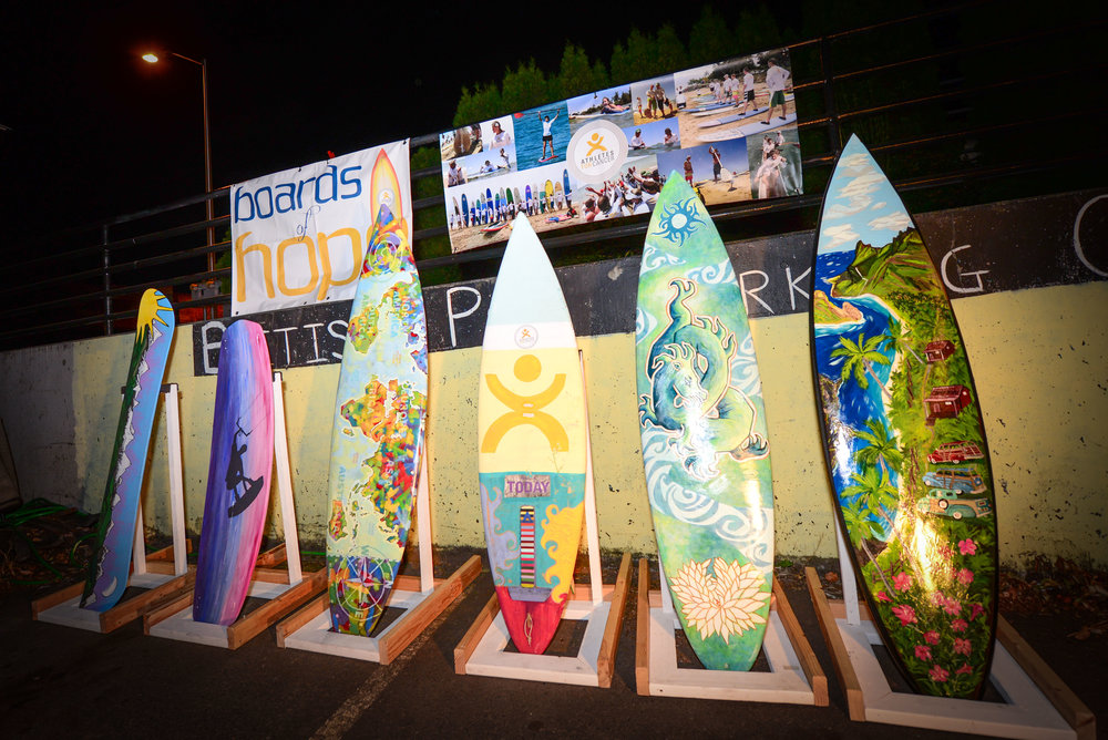 BOARDS OF HOPE AUCTION - Turn a board — skateboard, snowboard, kiteboard, skimboard, surfboard—into a true work of art.