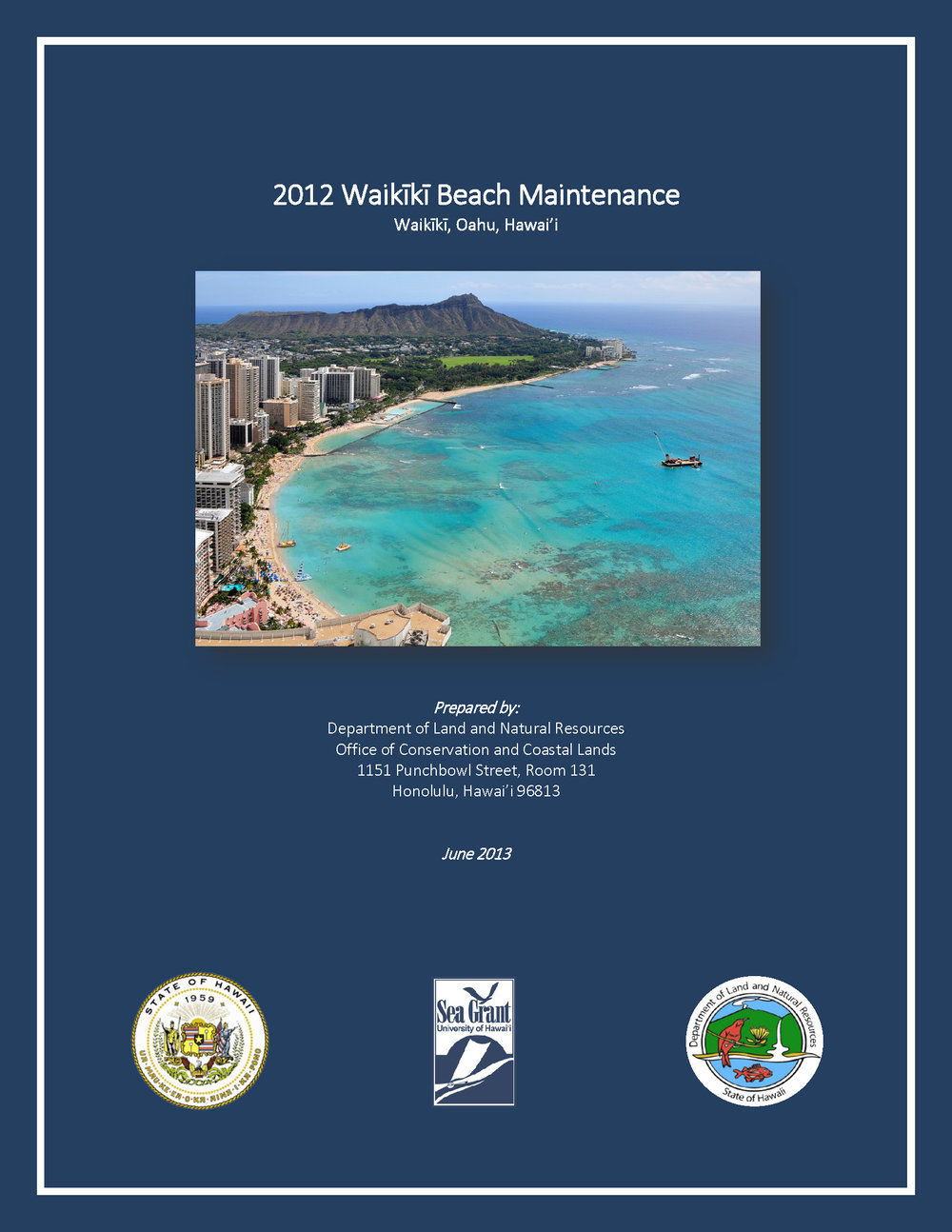 cover- 2012 Waikiki Beach Nourishment Final Report.jpg