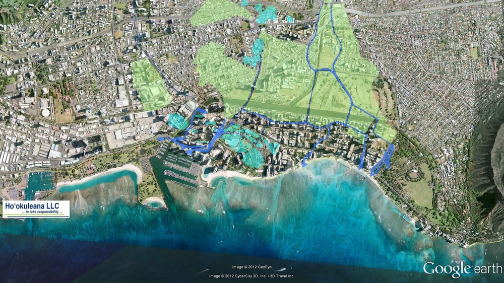 Historical Streams of Waikiki