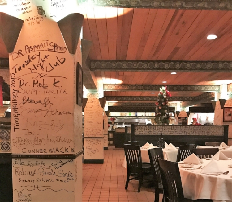 The walls are filled with signatures from locals, celebrities and politicians alike, including Bill and Hillary Clinton, Joe Biden and Jim Boeheim.