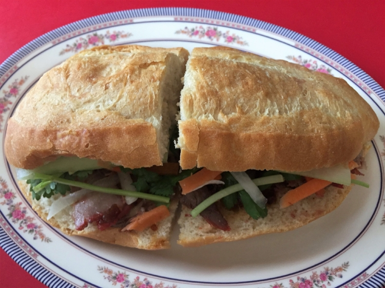 The sandwiches, all $5, are available mild, medium or hot.