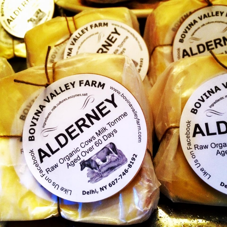 Aldernay, a raw milk French-style tomme cheese. Credit: Provided