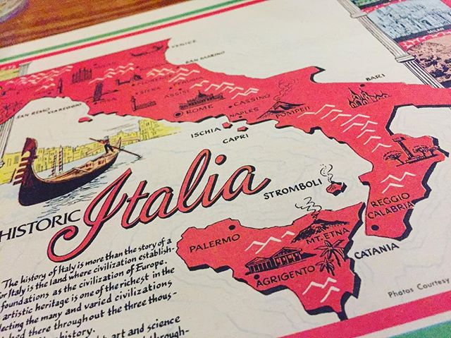 If you know Italian food in Syracuse, you know this placemat.