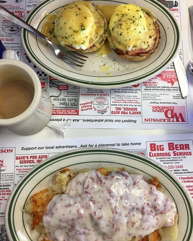 Doing my part to keep chipped beef alive. #upstateeater