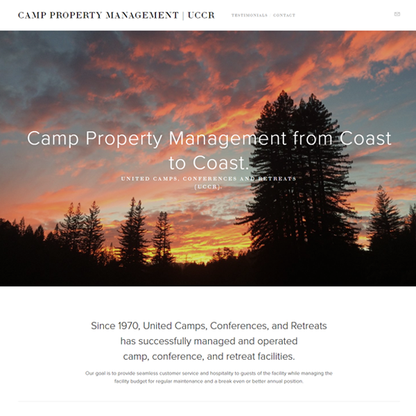 UCCR | Camp Property Management
