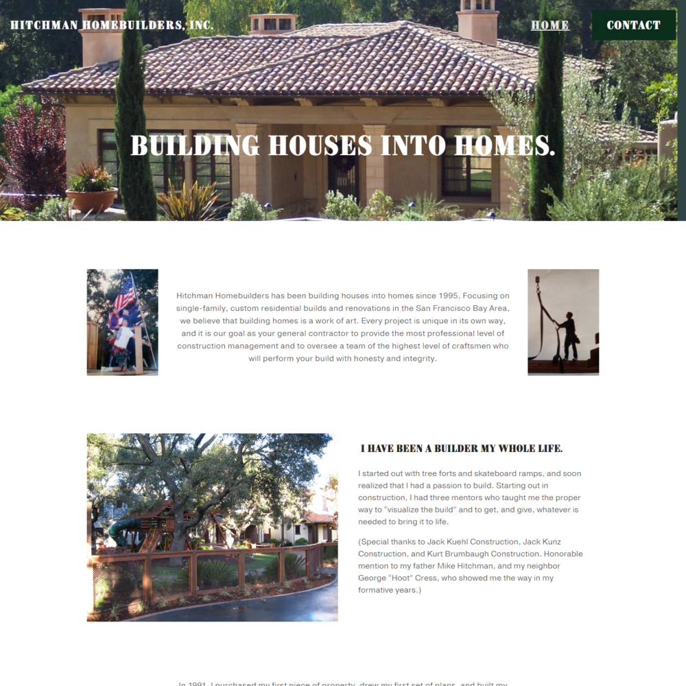 Hitchman Homebuilders, Inc.