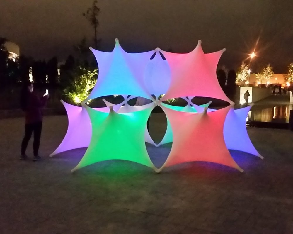 image of installation at Nuit Blanche, Toronto