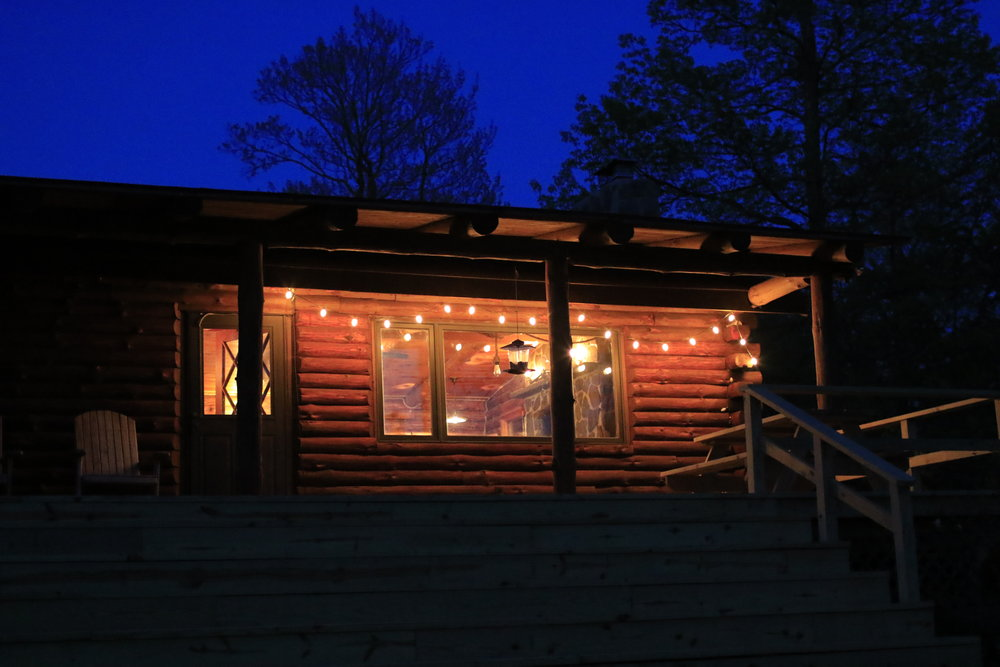 cabin porch and lights.JPG