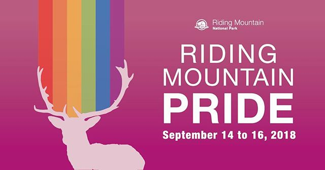 Pride at a national park! It will be so much fun and adventurous. Join @parks.canada at riding mountain for Pride this weekend!